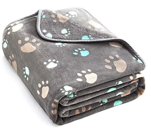Allisandro Fuzzy Flannel Fleece Pet Dog Blanket