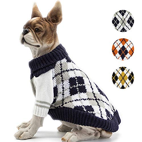 Bobibi The Diamond Plaid Dog Sweater