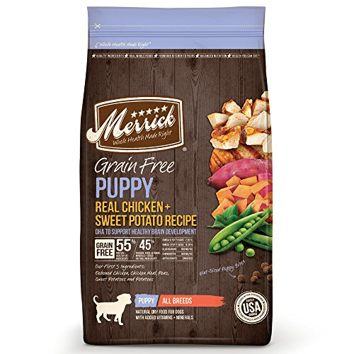 Merrick Grain Free Puppy Food