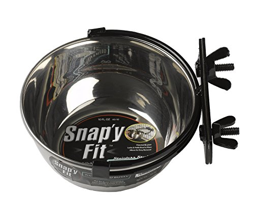 MidWest Homes For Pets Snap'y Fit Food Bowl