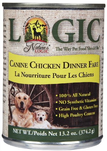 Nature's Logic Canned Food - Chicken - 12 x 13.2 oz