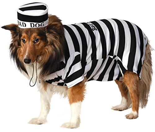 Prison Pooch Dog Halloween Costume