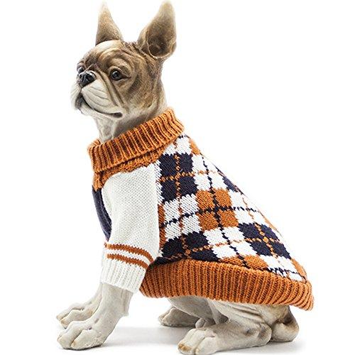 Hapee Diamond Plaid Sweater