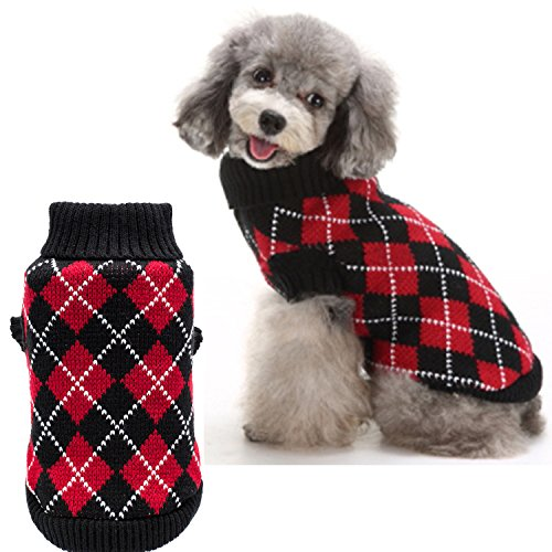Kooltail Christmas Dog Argyle Sweater