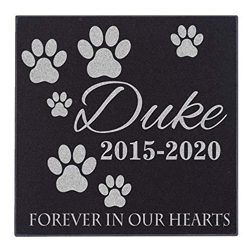 Customization Mill Memorial Pet Headstone