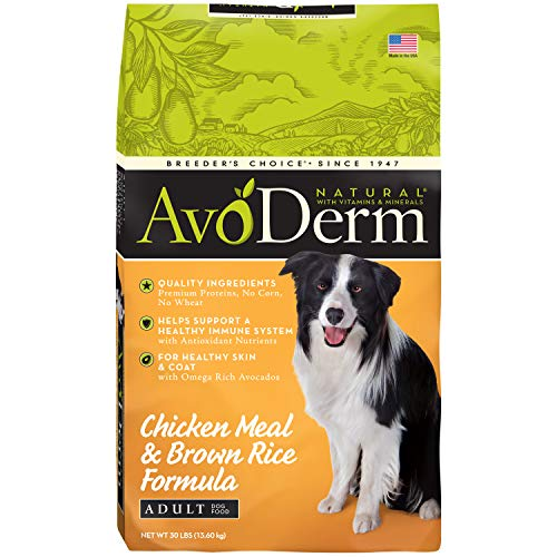 AvoDerm Natural Chicken Meal & Brown Rice Formula