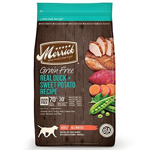 Merrick Grain-Free Duck & Sweet Potato Recipe
