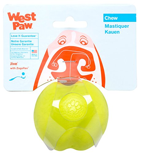 West Paw Design Jive Zogoflex Durable Ball
