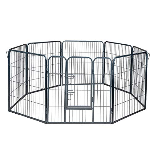 Paws And Pals Heavy Duty Portable Metal Playpen