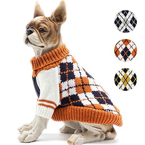 Bobibi The Diamond Plaid Dog Sweater