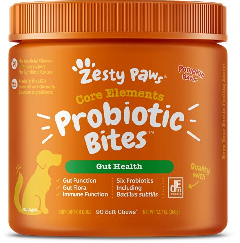 Zesty Paws Probiotic With Natural Digestive Enzymes