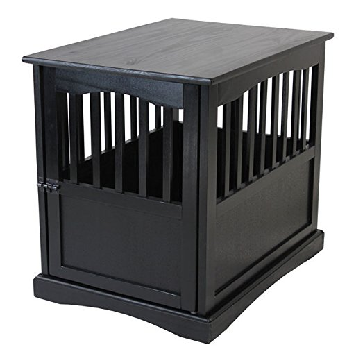 Casual Home Solid Wood Crate End Table