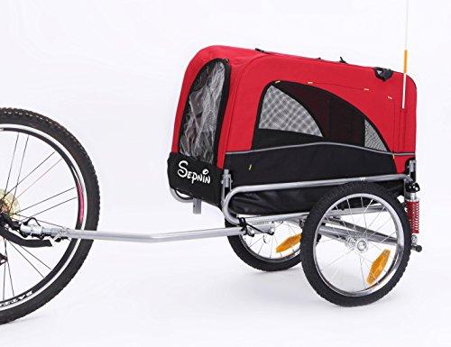 Sepnine 2-in-1 Small Sized Bike Trailer