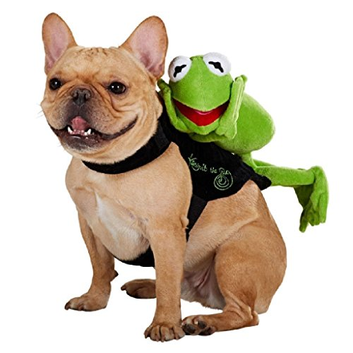 Disney Kermit Rider Halloween Dog Costume