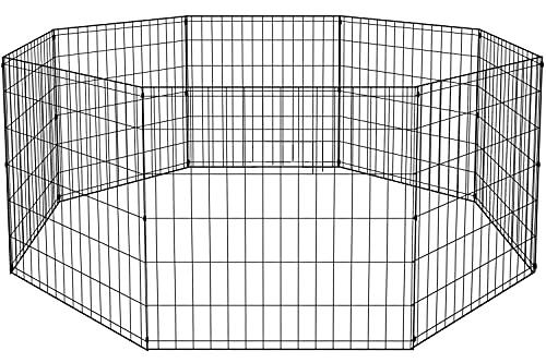 BestPet 2 Door 8-Panel Pet Wire Cage