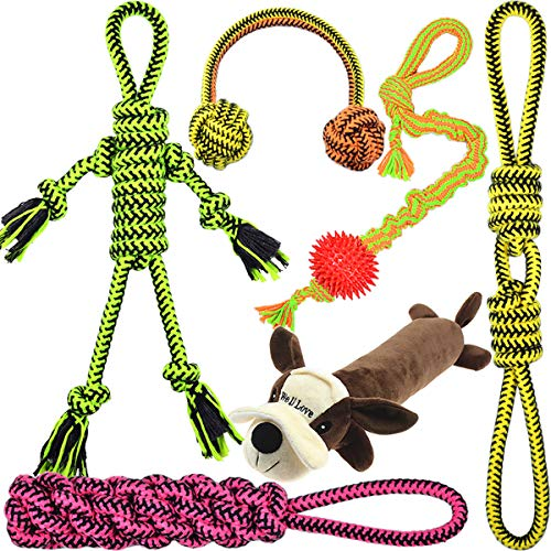 Duoer Well Love Natural Cotton Rope Toys