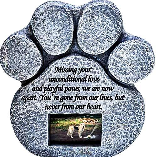 Pawprints Remembered Pet Memorial Stone