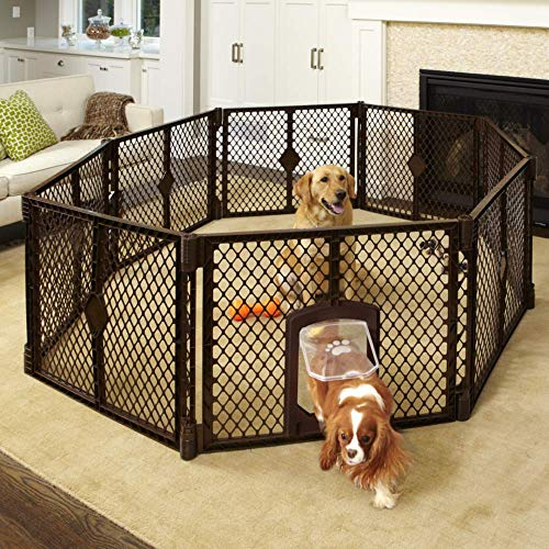 Petyard Passage 8-Panel Pet Containment Pen