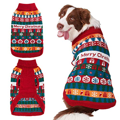 Mihachi Christmas Dog Sweater
