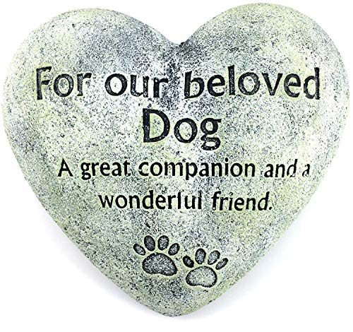 Gerson Dog Pet Memorial Stone
