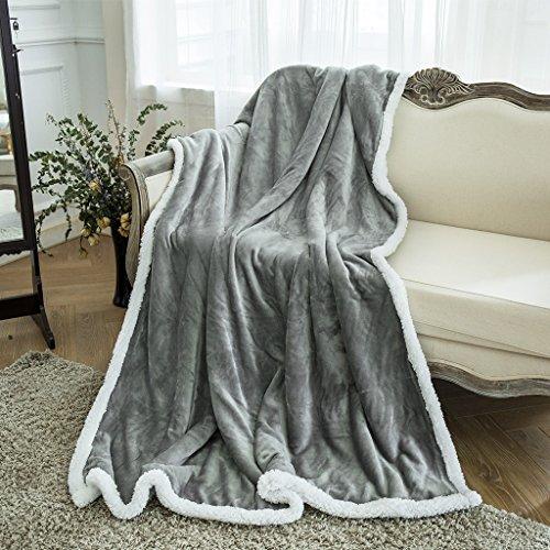 Langria Super Soft Sherpa Blanket