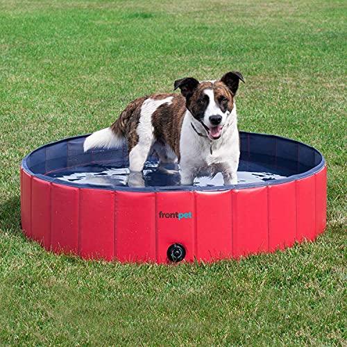 FrontPet Foldable Large Dog Pet Pool / Bathing Tub