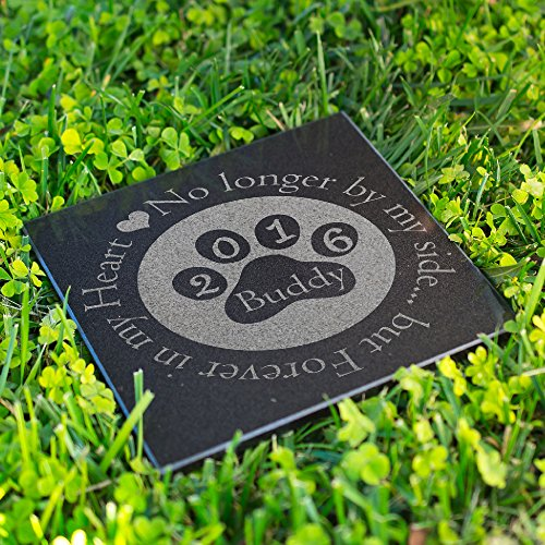 Lara Laser Works Personalized Dog Memorial