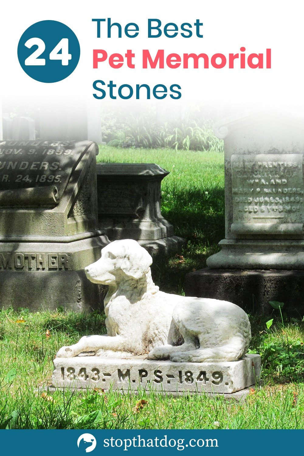 The Best Pet Memorial Stones – A Perfect Way To Honor Your Dog